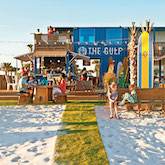The Gulf restaurant in Orange Beach, FL, designed by Casburn Brett Architects. Photo: Robbie Caponetto for Southern Living